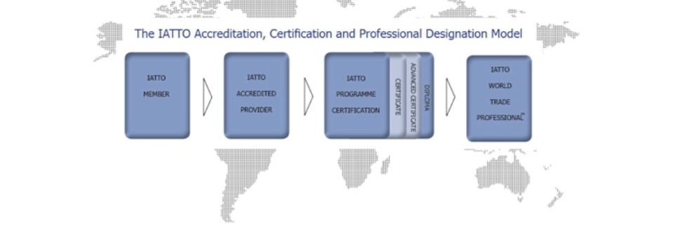 IATTO ACCREDITATION, CERTIFICATION & PROFESSIONAL DESIGNATION SYSTEM - an international quality system aimed at professionalism in international trade.